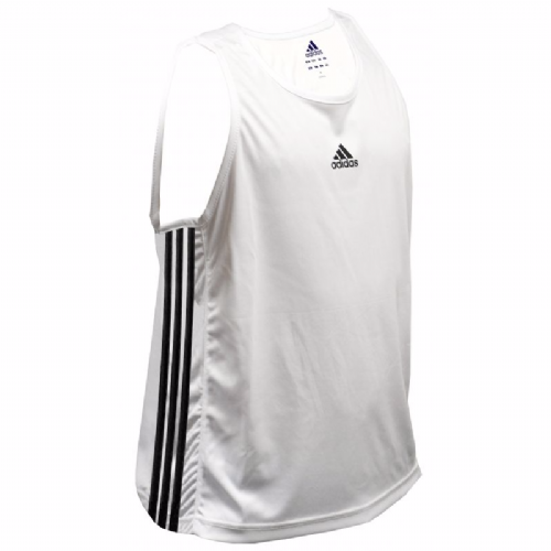 Adidas Kids Base Punch Boxing Vest - White